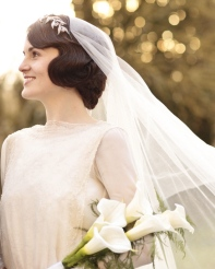 Lady Mary at Downton Abbey