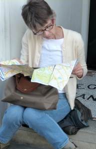 Map reading in London