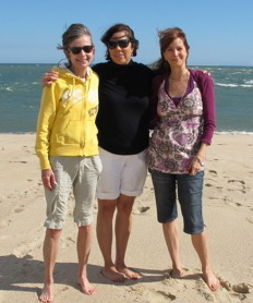 What's it all about -- Great pals for one thing. Me, Donna and Laurie on the Vineyard