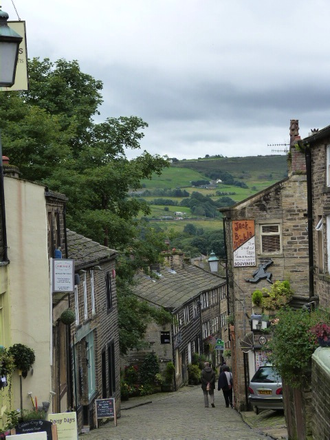 The long and winding road in Haworth