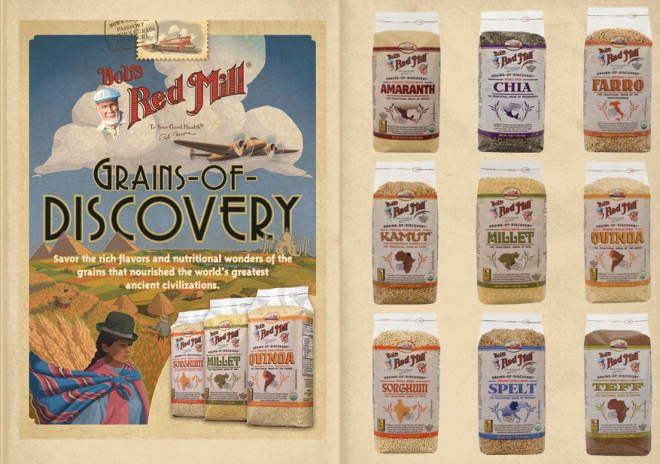 The Grains of Discovery Collection at Bob's Red Mill